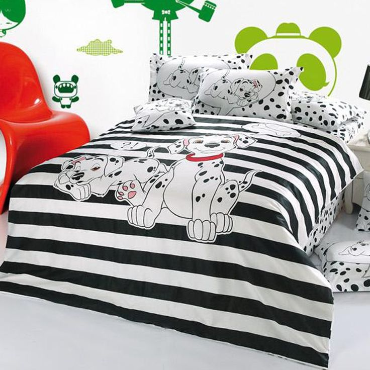 Dalmatian-Theme1 Top 5 Girls' Bedroom Decoration Ideas in 2018