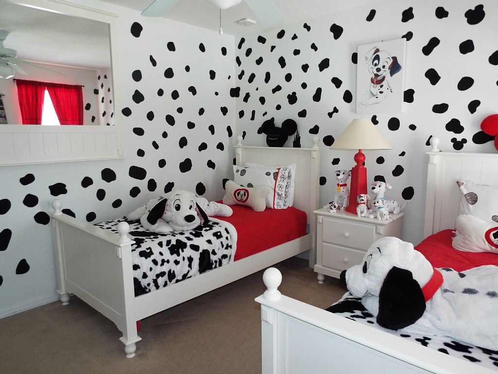 Dalmatian-Theme2 Top 5 Girls' Bedroom Decoration Ideas in 2020