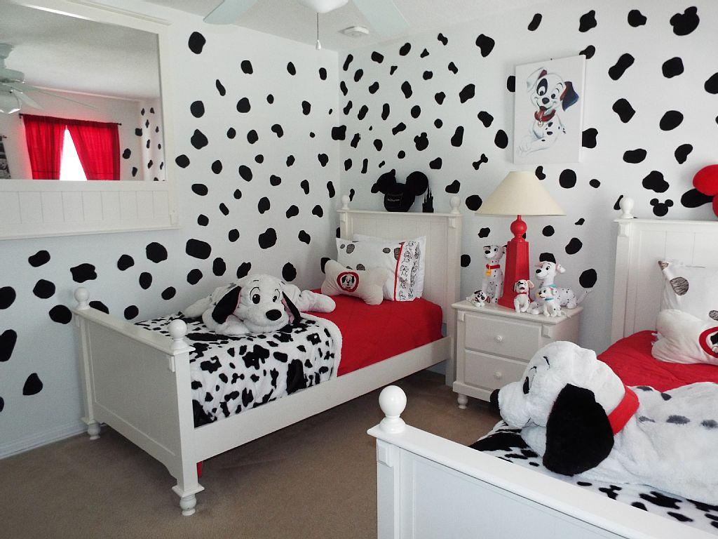 Dalmatian-Theme2 Top 5 Girls' Bedroom Decoration Ideas in 2020