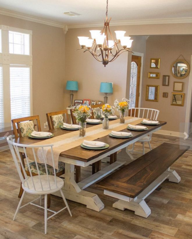 30 Best Farmhouse Table Dining Room Decor Ideas: 15+ Best Luxurious And Modern Dining Room Design For 2020
