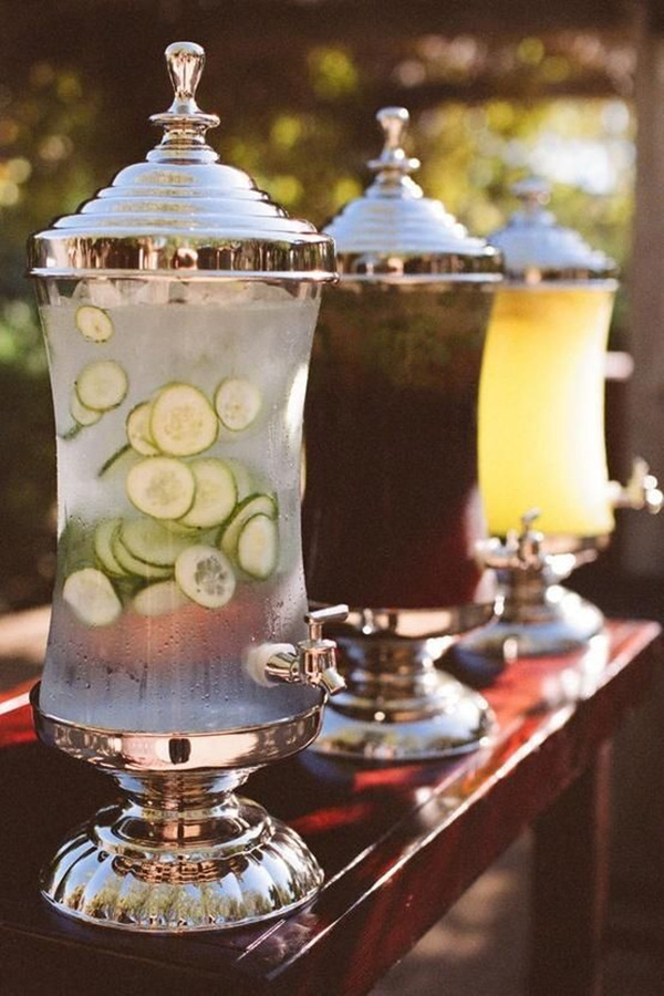 Drink-Coolers3 10 Best Outdoor Wedding Ideas in 2017