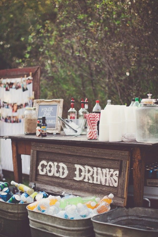 Drink-Coolers4 10 Best Outdoor Wedding Ideas in 2018