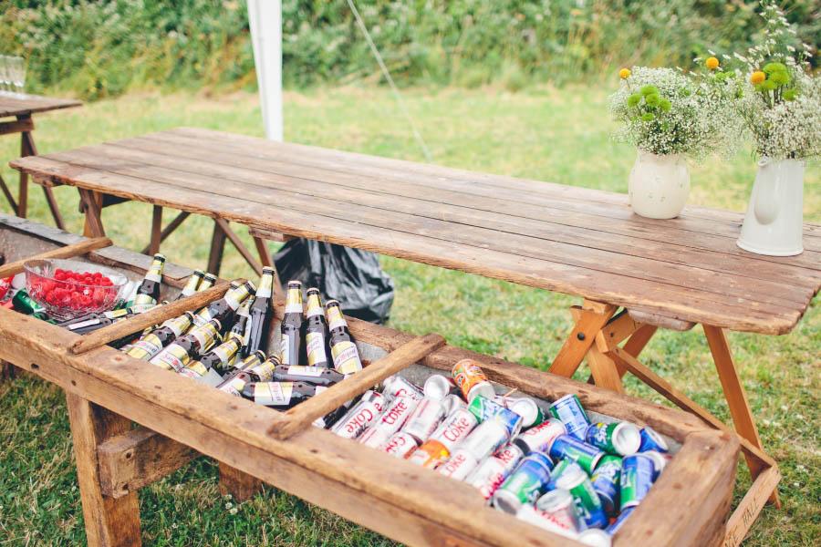 Drink-Coolers5 10 Best Outdoor Wedding Ideas in 2017