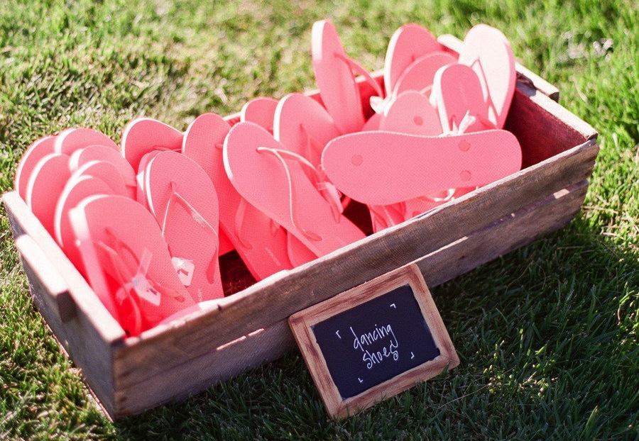 Flip-Flops1 10 Best Outdoor Wedding Ideas in 2018