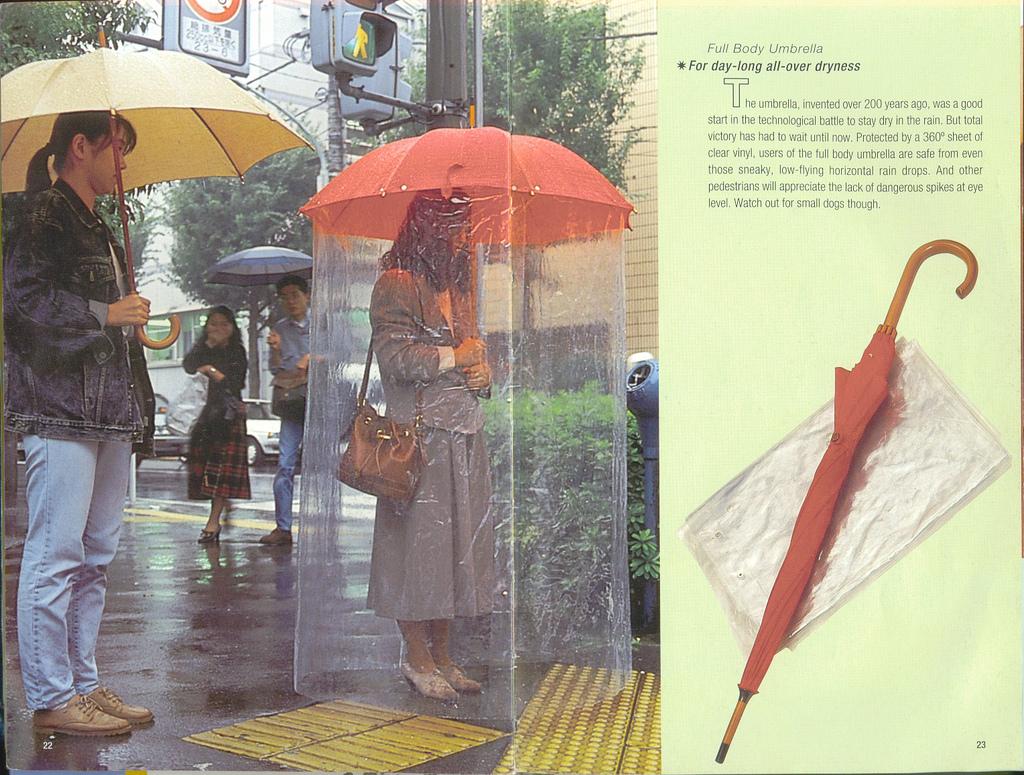 Full-Body-Umbrella2 15 Unusual Umbrellas Design Ideas