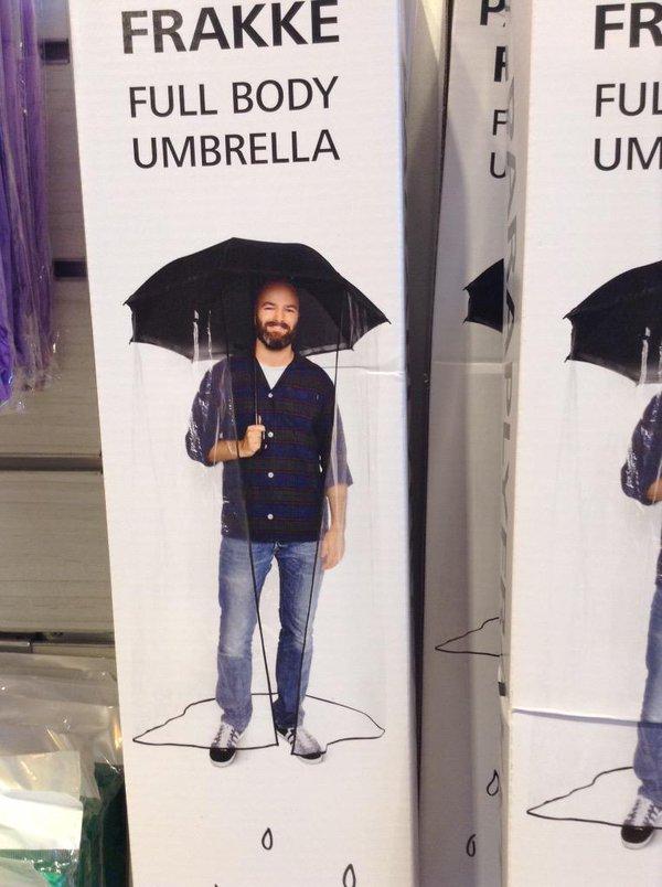 Full-Body-Umbrella3 15 Unusual Umbrellas Design Ideas