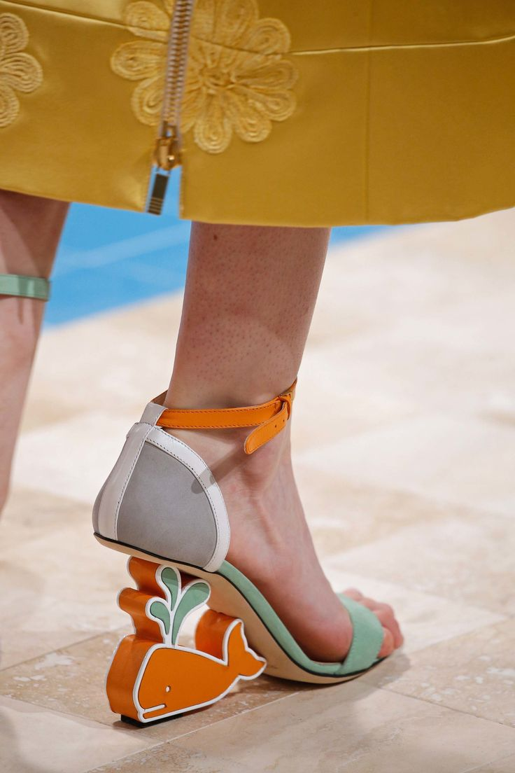Funky-heels3 Hot 7 Summer/Spring Shoe Designs that Every Woman Dreams of
