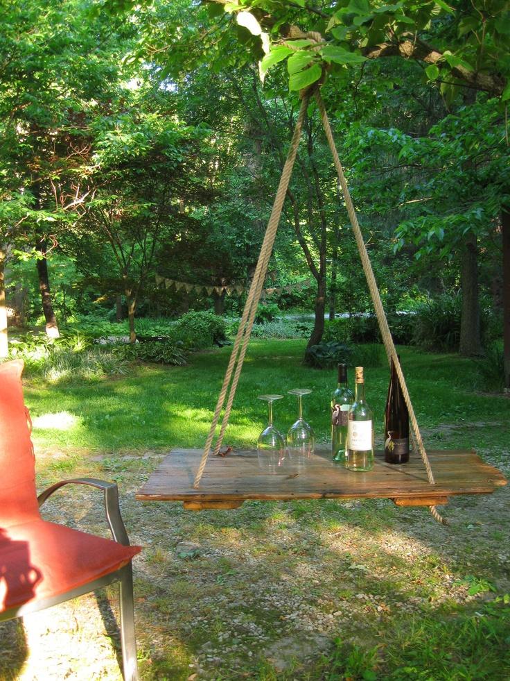 Hanging-Tables4 10 Best Outdoor Wedding Ideas in 2017