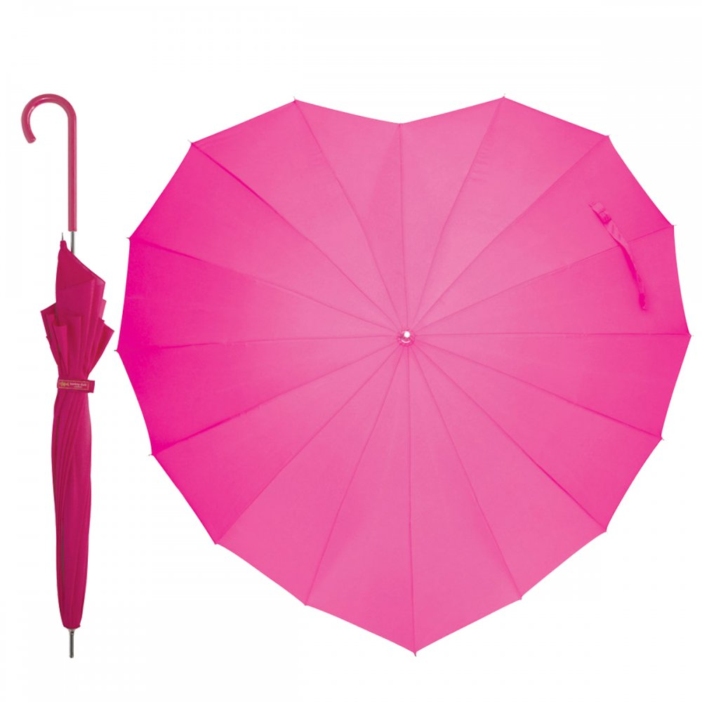 Heart-Shaped-Umbrella1 15 Unusual Umbrellas Design Ideas
