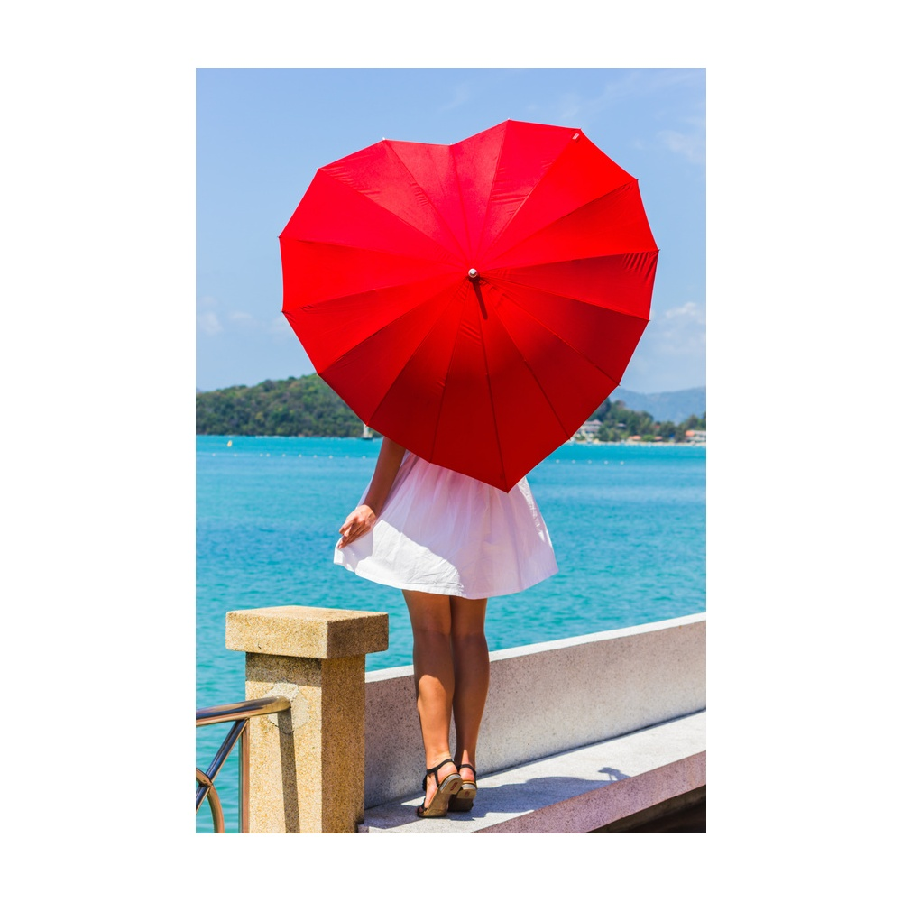 Heart-Shaped-Umbrella2 15 Unusual Umbrellas Design Ideas