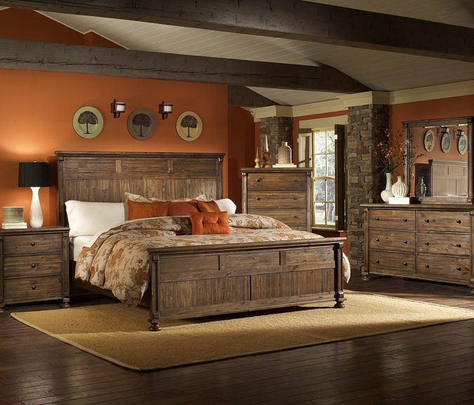 Homelegance-Ardenwood-66-Inch-Dresser-in-Natural-09-675x578 25+ Orange Bedroom Decor and Design Ideas for 2017