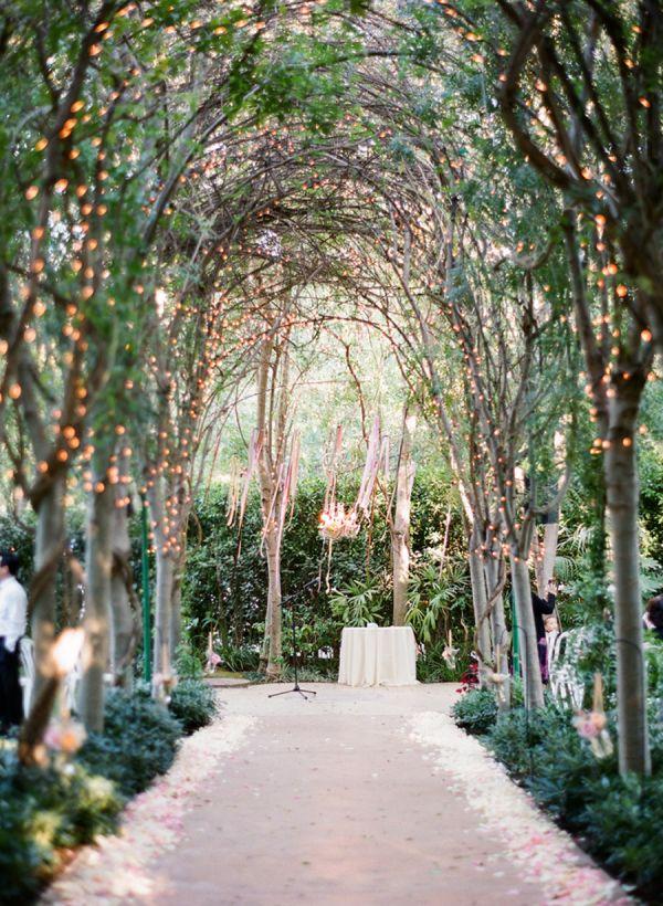 Illuminating-Trees3 10 Hottest Outdoor Wedding Ideas in 2020