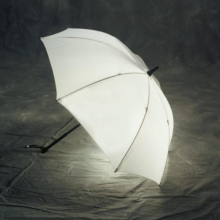 Illuminating-Umbrella1 15 Unusual Umbrellas Design Trends in 2018