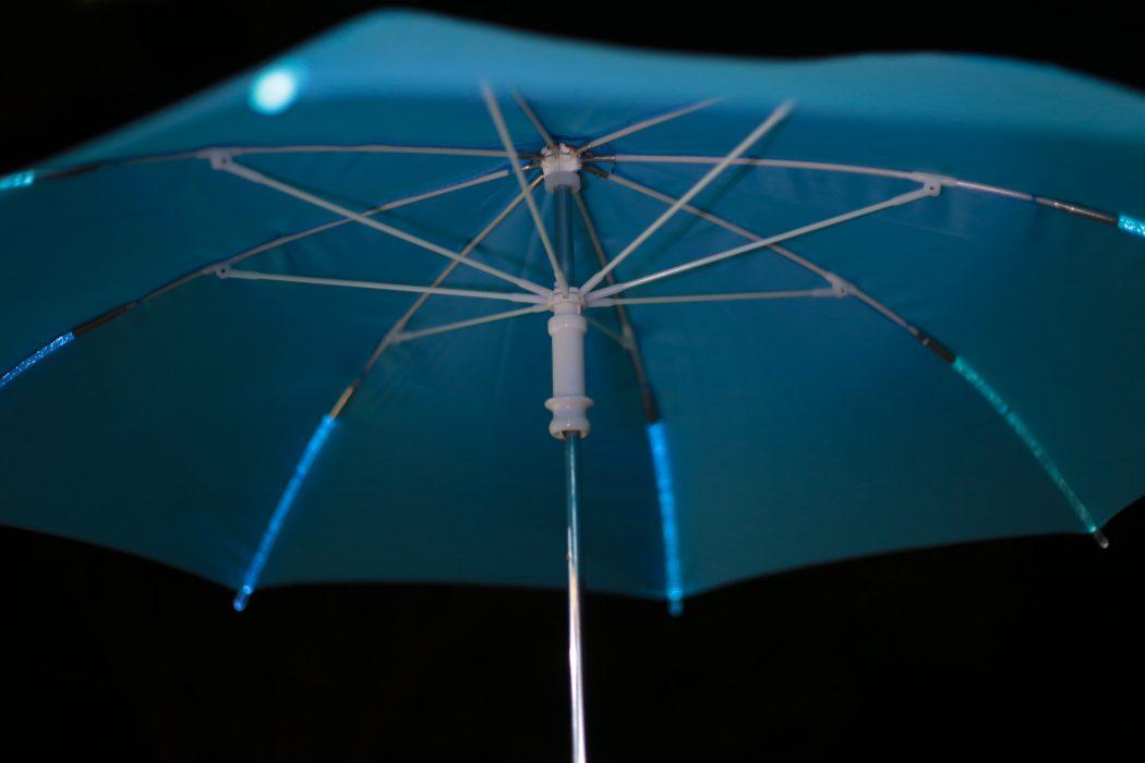 Illuminating-Umbrella3 15 Unusual Umbrellas Design Trends in 2018