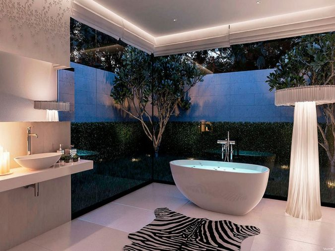 Jungle-bathroom3-675x506 6 Bathtub Designs that will Make your Jaw Drops!