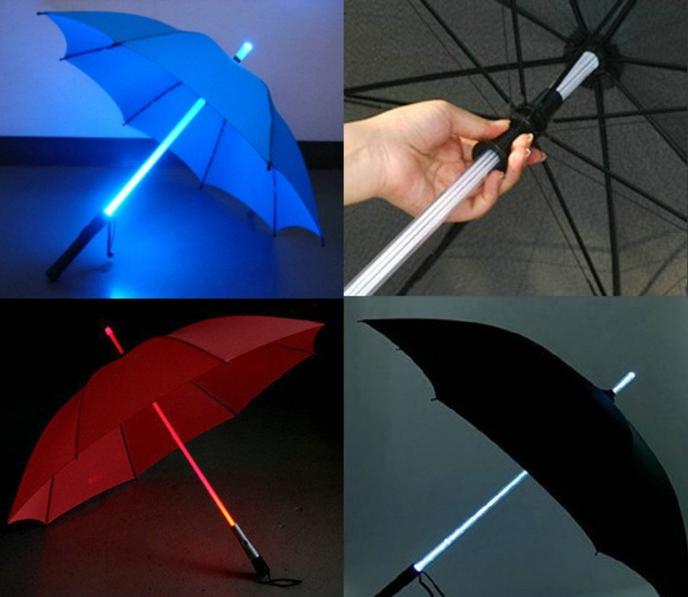 Light-Saber-Umbrella2 15 Unusual Umbrellas Design Trends in 2017