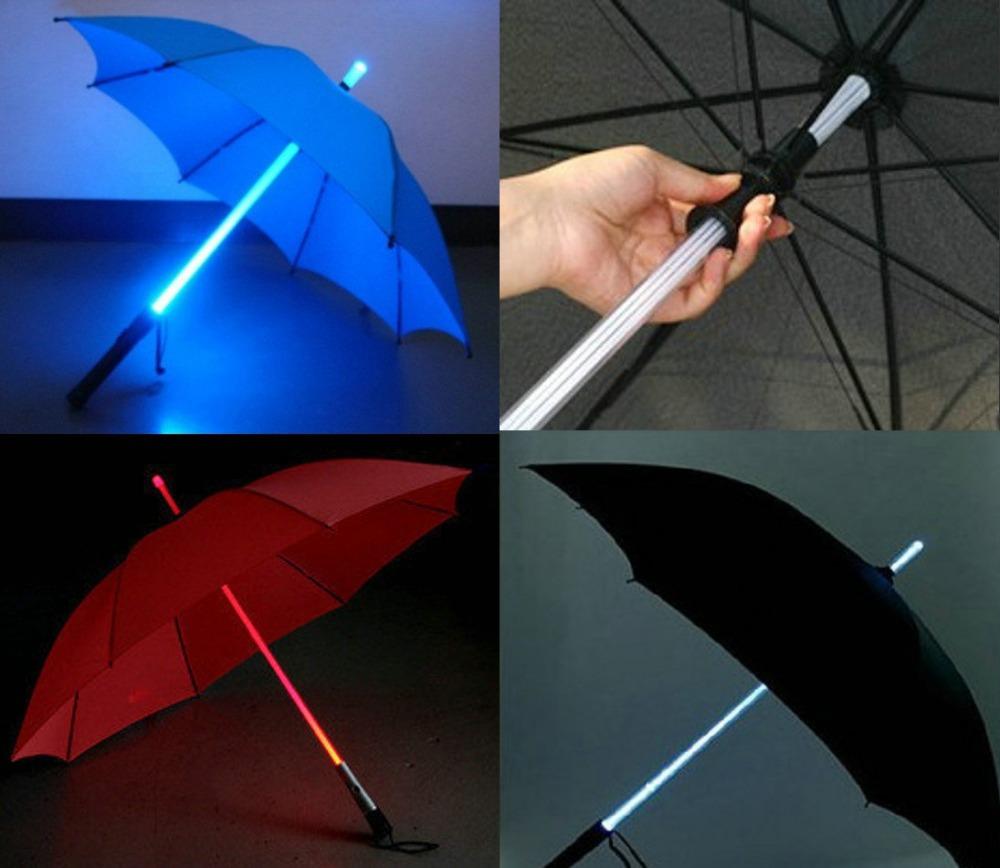 Light-Saber-Umbrella2 15 Unusual Umbrellas Design Trends in 2018