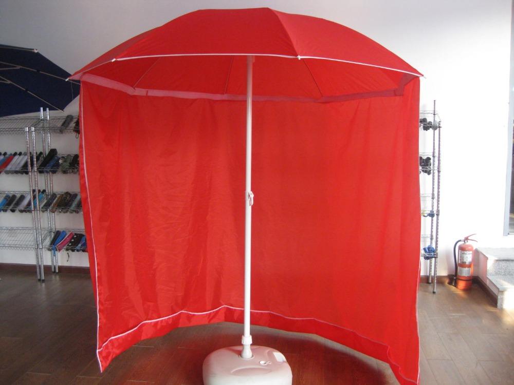 Long-Curtain-Umbrella2 15 Unusual Umbrellas Design Ideas