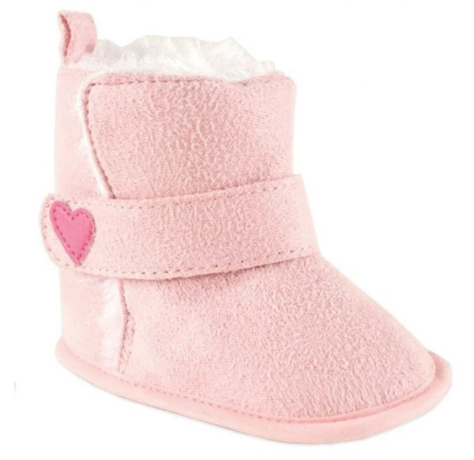 Luvable-Friends-Baby-Faux-Suede-Winter-Boots-pink-675x654 20+ Adorable Baby Girls Shoes Fashion for 2020