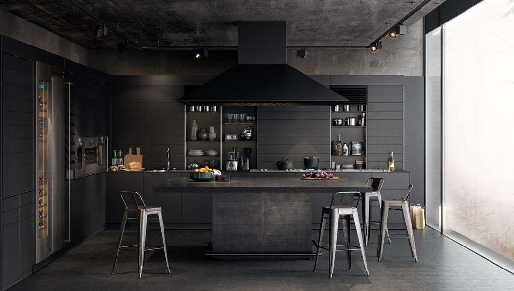 Make-It-Black2 5 Newest Kitchens' Decorations Ideas For 2017