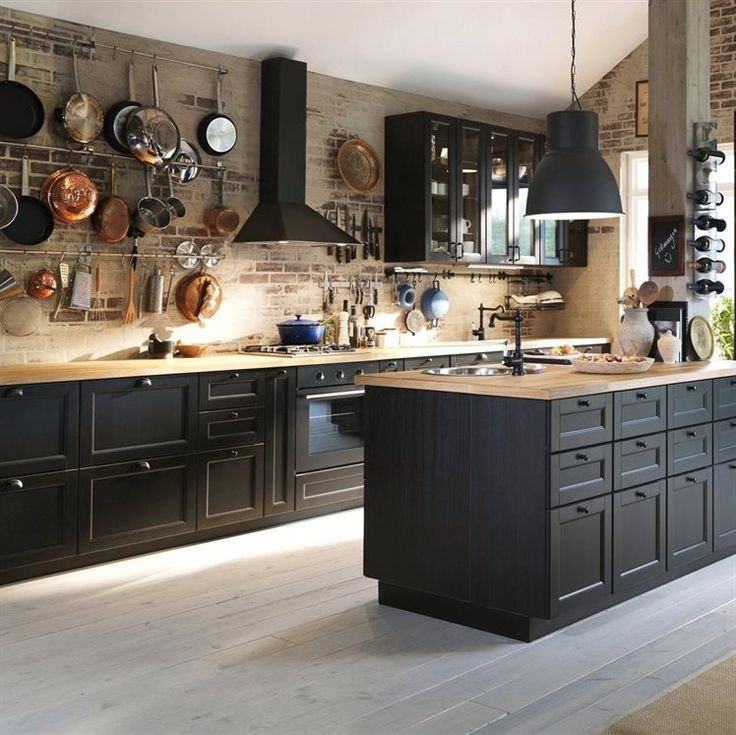 Make-It-Black4 5 Newest Kitchens' Decorations Ideas For 2018