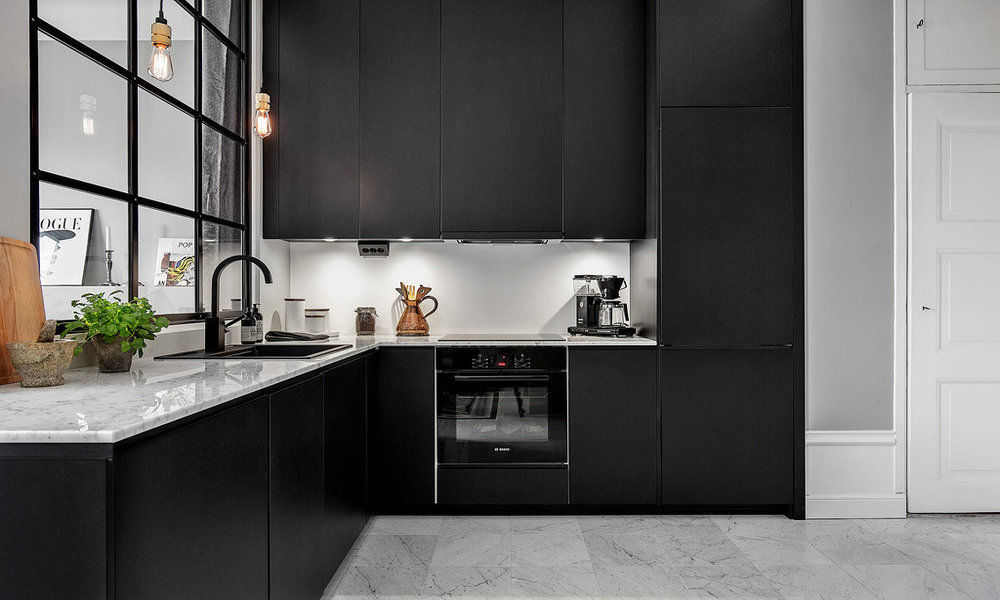 Make-It-Black5 5 Newest Kitchens' Decorations Ideas For 2017