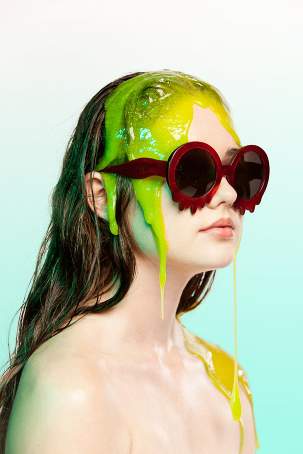 MeltingDripping-Sunglasses1 12 Unusual Sunglasses trends in 2018