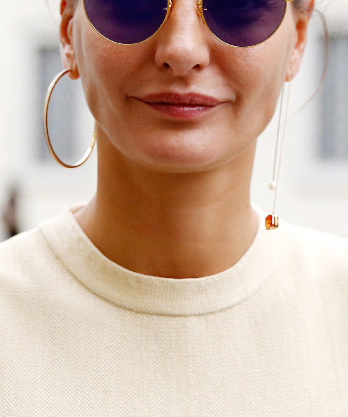 Mismatched-earrings3 5 Spring & Summer Accessories Fashion Trends in 2018