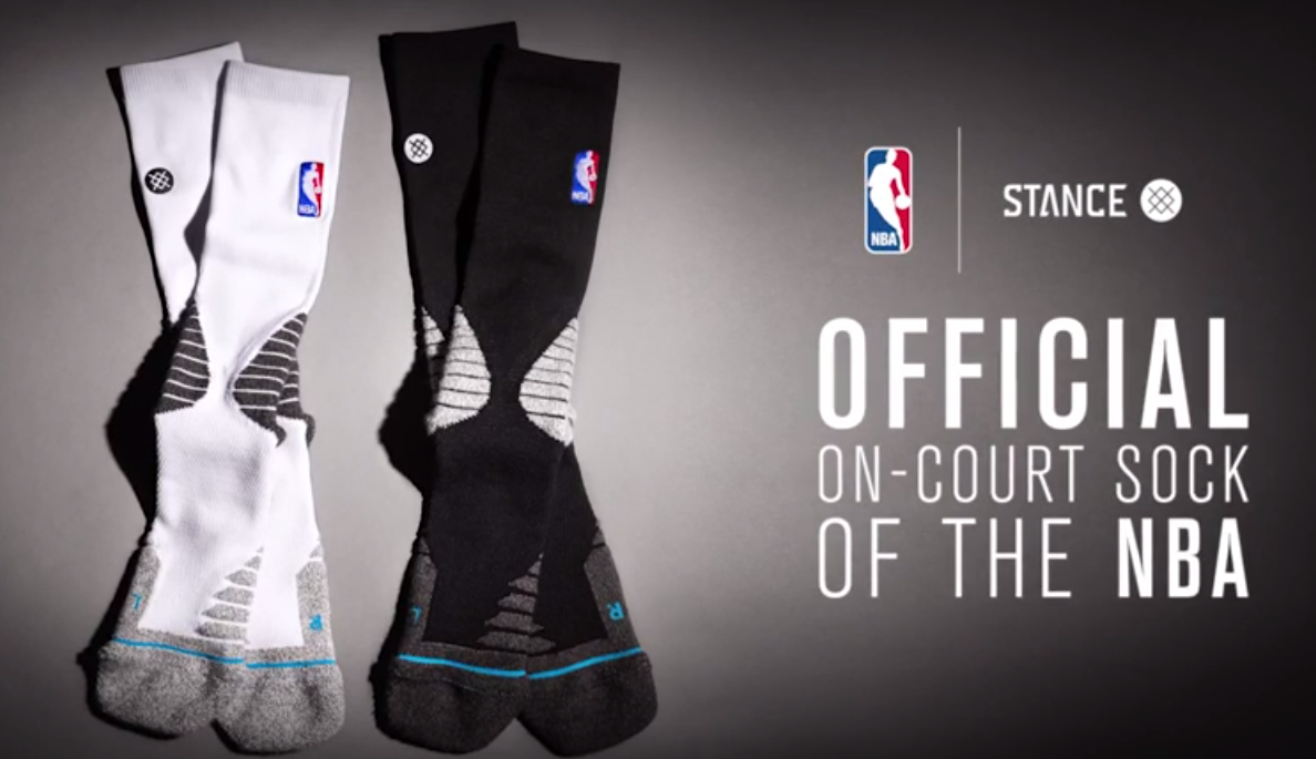 NBA-Stance-Socks Stocking Stuffers for the Sports Star on your Christmas List
