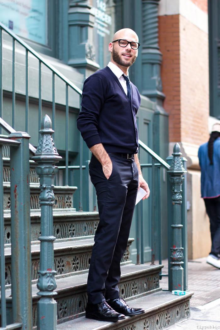 Neck-Cardigans3 35+ Winter Fashion Trends for Handsome Men in 2020
