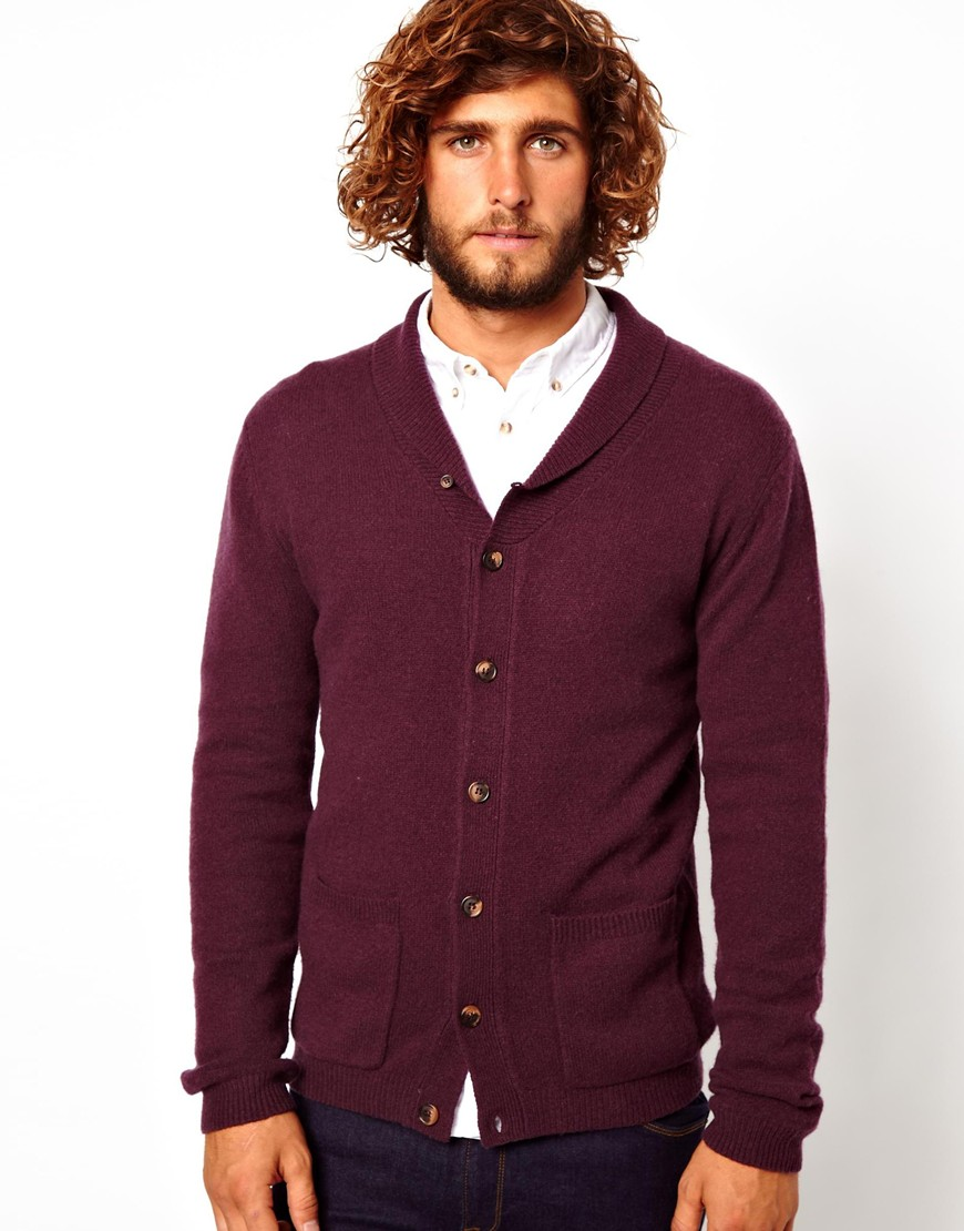 Neck-Cardigans5 25+ Winter Fashion Trends for Handsome Men in 2018