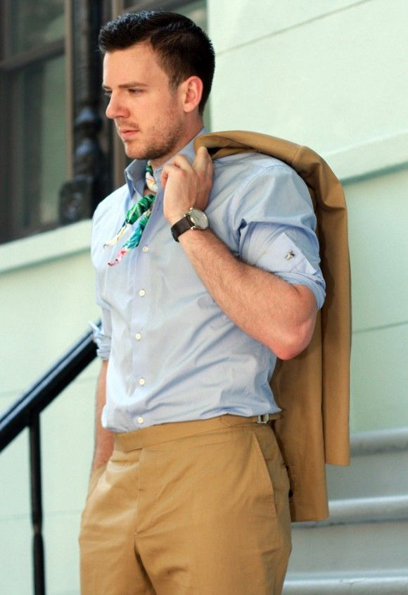 Neckerchiefs3 25+ Winter Fashion Trends for Handsome Men in 2018