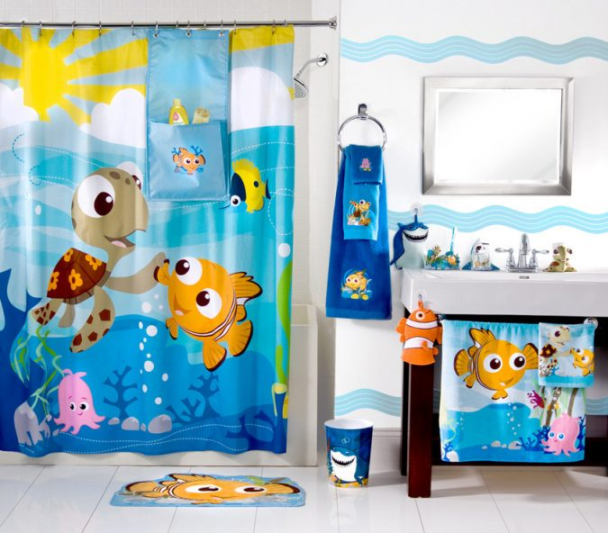 Nemobath-675x592 5 Bathroom Designs of kids' Dreams