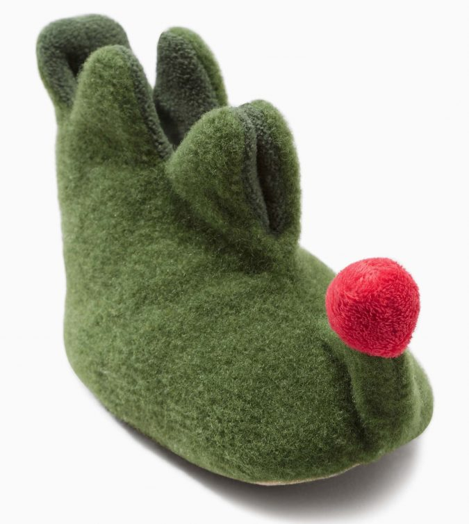 Next-Green-Elf-booties-1-675x754 20+ Adorable Baby Girls Shoes Fashion for 2018