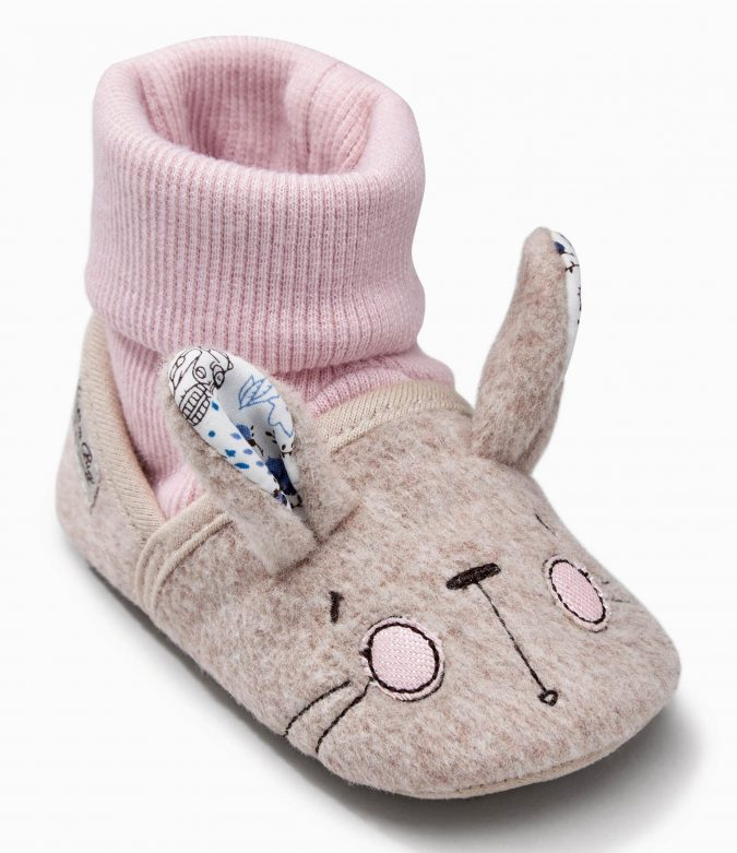 Next-baby-shoes-Grey-Bram-Bunny-Socks-675x781 20+ Adorable Baby Girls Shoes Fashion for 2018