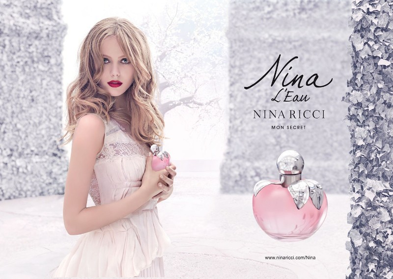 Nina-LEau-by-Nina-Ricci-for-women +54 Best Perfumes for Spring & Summer