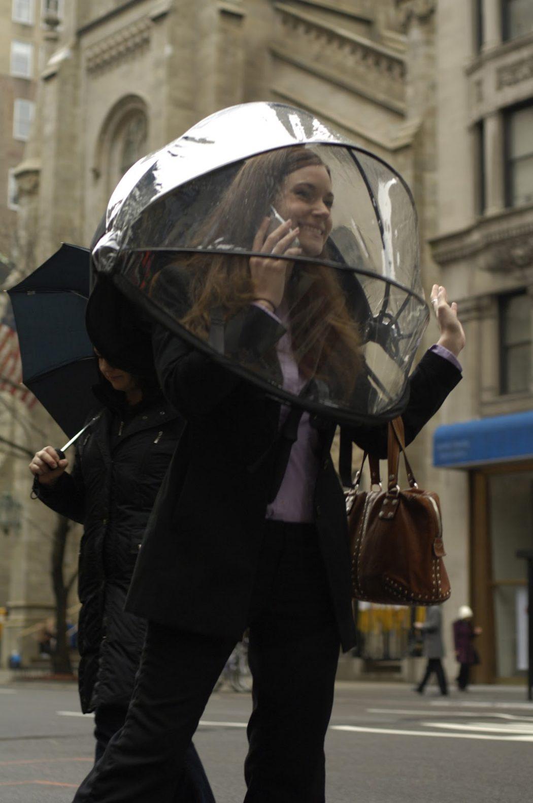 Nubrella3 15 Unusual Umbrellas Design Ideas