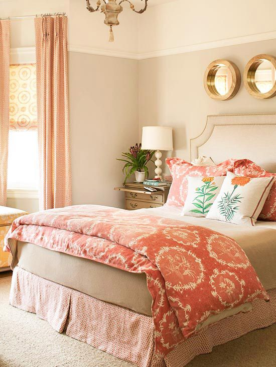 Orange-bedroom 25+ Elegant Orange Bedroom Decor Ideas