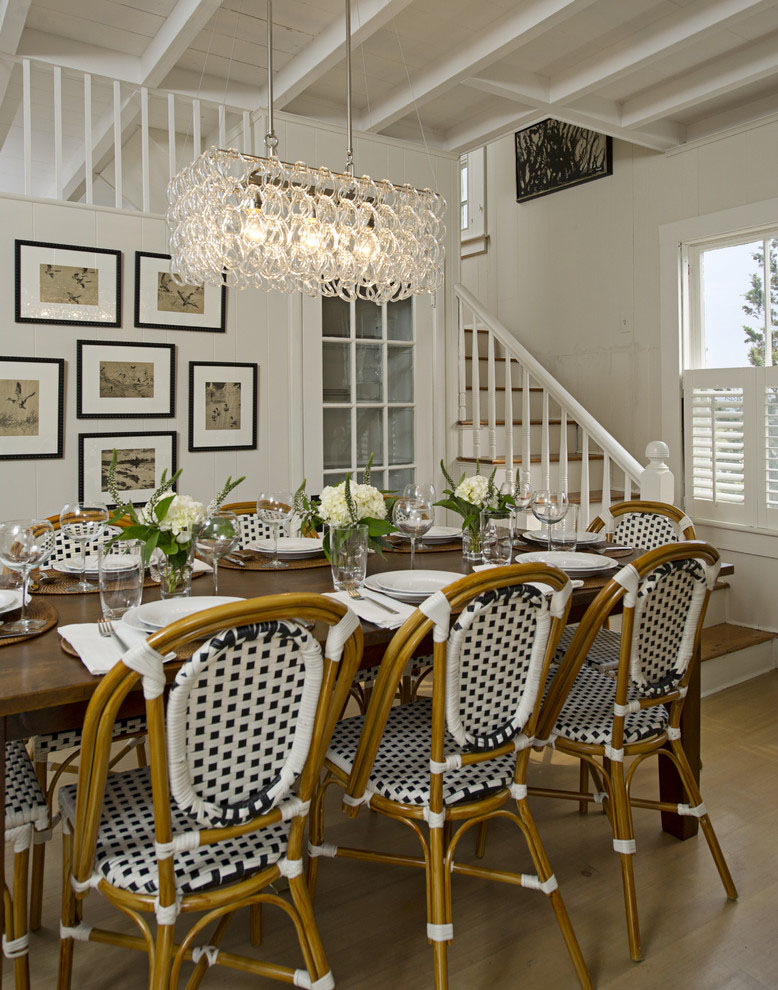 Parisian-Café-Inspired-Dining-Room3 15+ Best Luxurious and Modern Dining Room Design for 2020