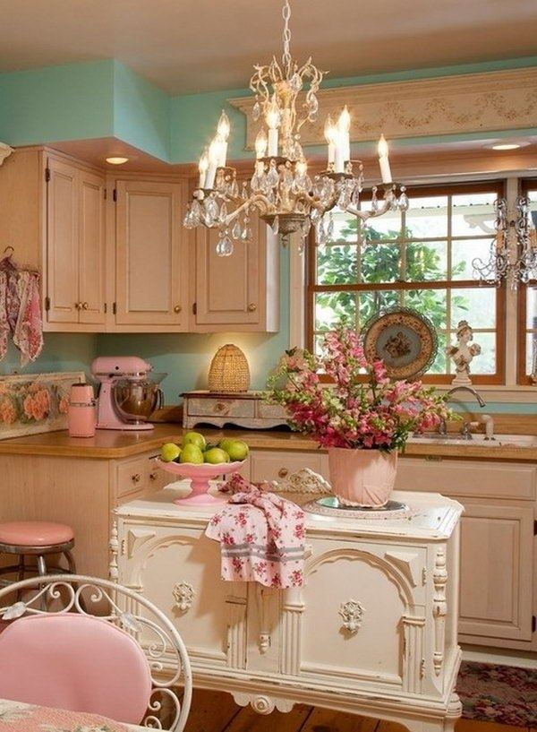 Pastel-Your-Kitchen5 5 Kitchens' Decorations Ideas For 2017