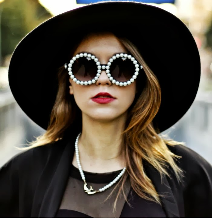 Pearl-Sunglasses1 12 Unusual Sunglasses trends in 2018
