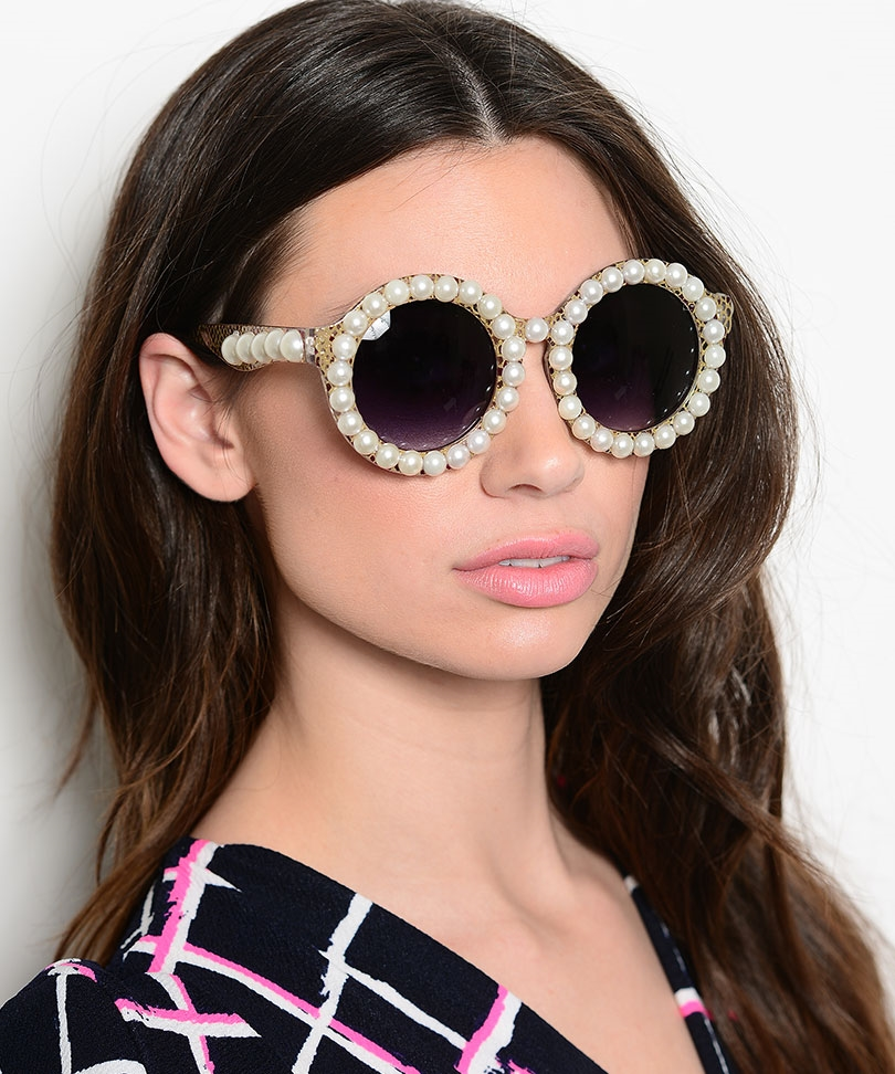 Pearl-Sunglasses2 12 Unusual Sunglasses trends in 2020