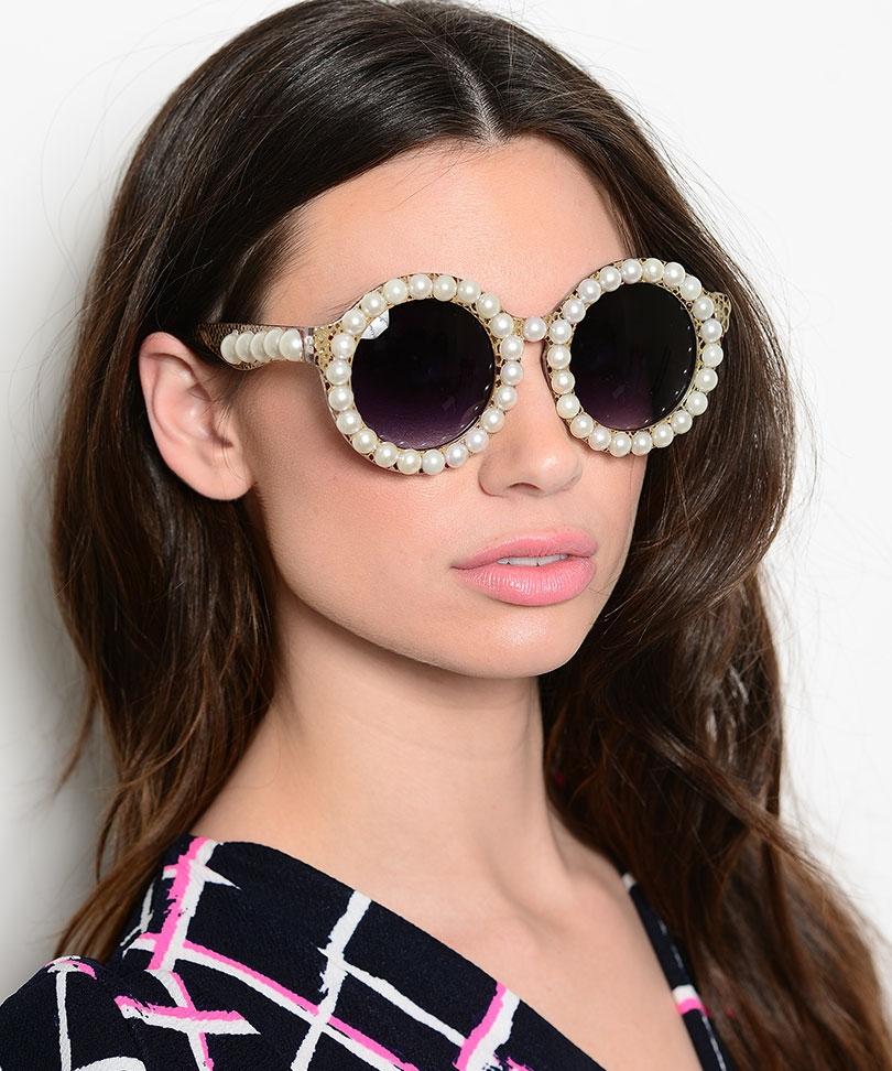 Pearl-Sunglasses2 12 Unusual Sunglasses trends in 2018