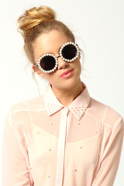 Pearl-Sunglasses4 12 Unusual Sunglasses trends in 2018