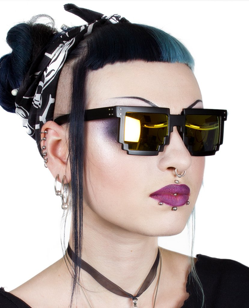 Pixel-Frames3 12 Most Unusual Sunglasses Ever