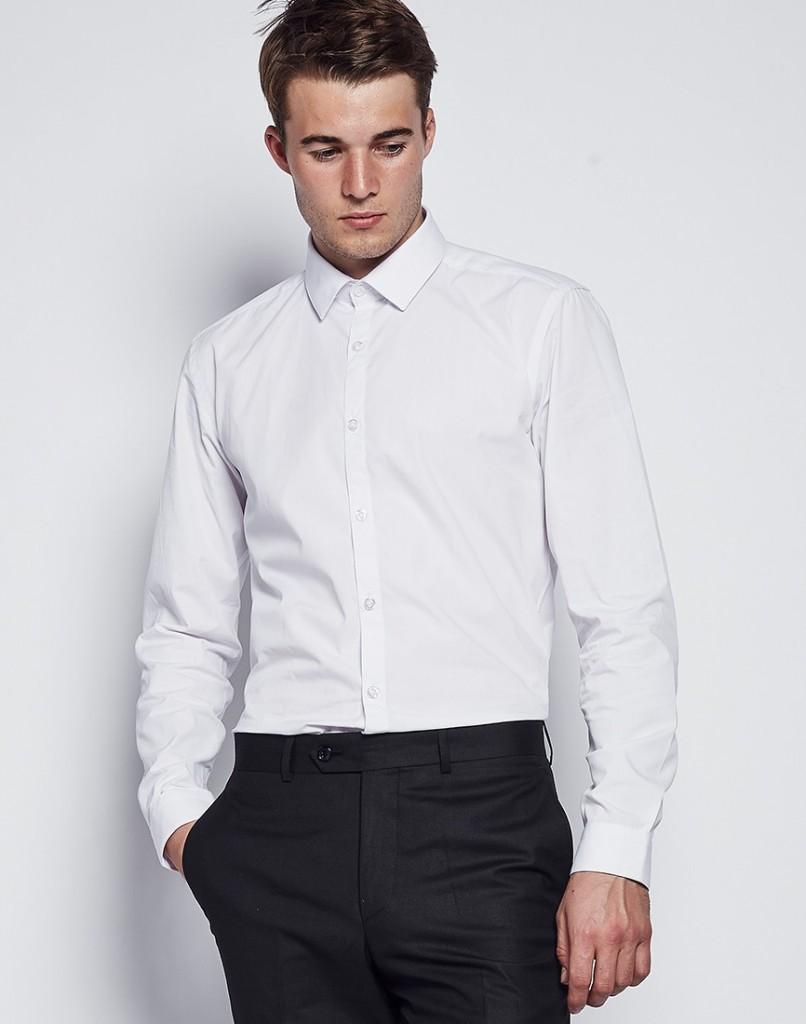 Plain-White-Shirts1 6 Trendy Weddings Outfit Ideas for Men