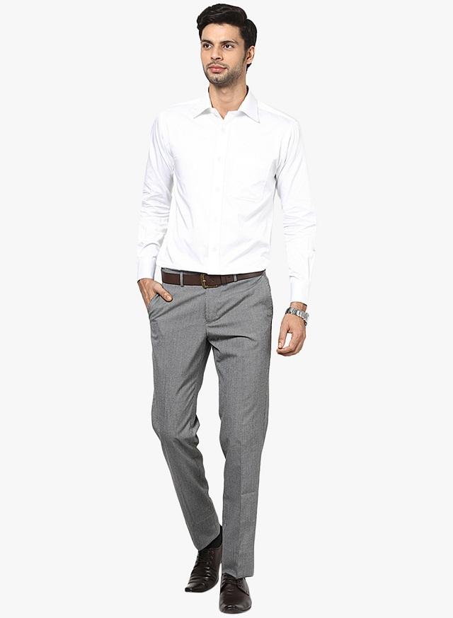 Plain-White-Shirts2 6 Trendy Weddings Outfit Ideas for Men