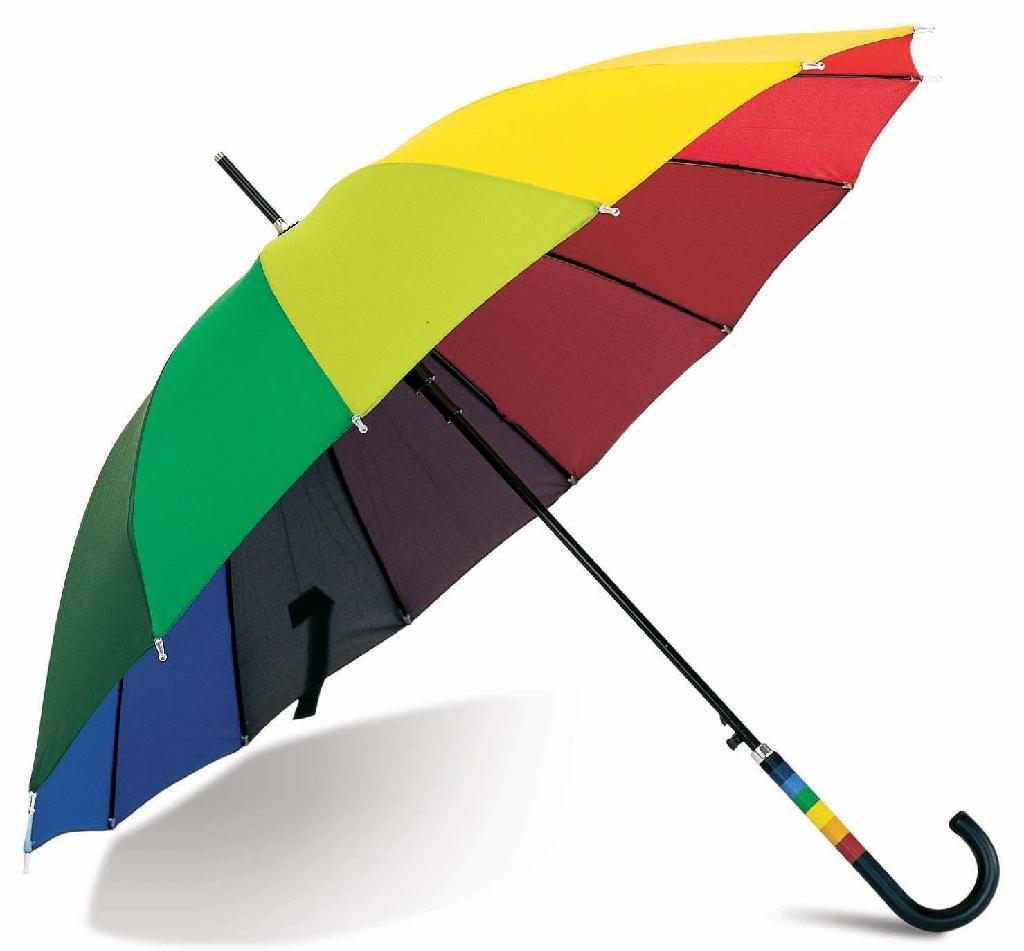 Rainbow-Umbrella1 15 Unusual Umbrellas Design Trends in 2018