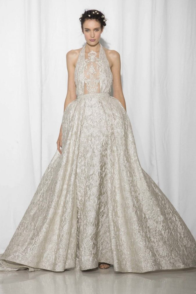 Reem-Acra-bridal-675x1013 +25 Wedding dresses Design Ideas for a Gorgeous-looking Bride in 2020