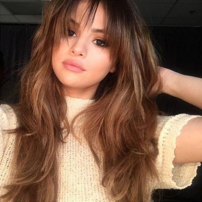 Selena-Gomez9-675x675 15+ Hottest Celebrities' Hairstyles Trends in 2017